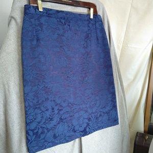 Dresses & Skirts - 💐  3-for-30 Jacquard Pencil skirt royal blue